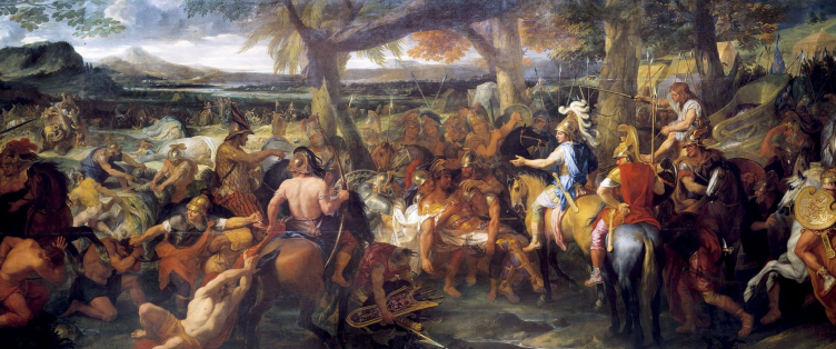 Painting by Charles Le Brun (1673)
