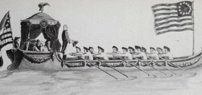 Washington's Inaugural Barge